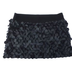 H&M Faux Leather Mini Skirt Small